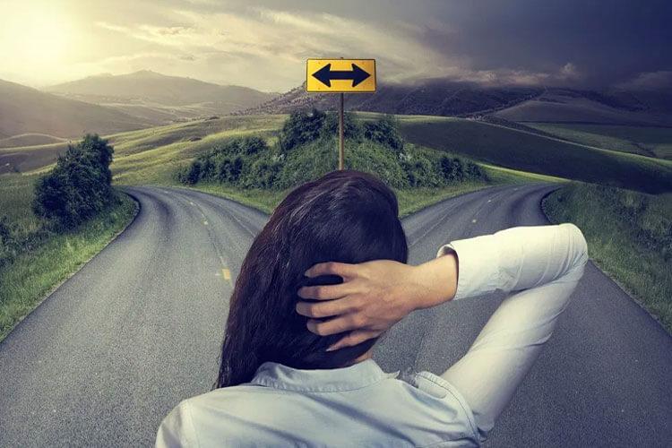 人生の分岐点 - ターニングポイント