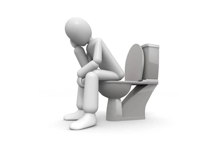 会社で一番落ち着く場所はトイレ